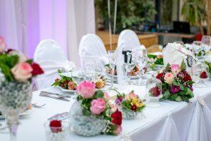 Decoratie bruiloft van papier